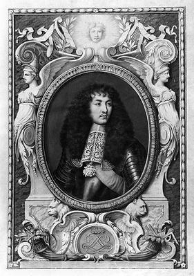 Medallion Portrait of Louis XIV