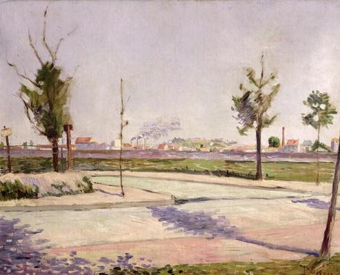 The Road to Gennevilliers, 1883