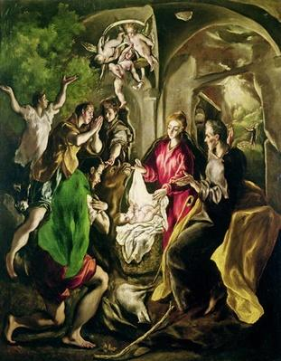 Adoration of the Shepherds, 1603-05