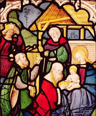 Window depicting the Adoration of the Magi