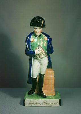Staffordshire figure of Napoleon Bonaparte