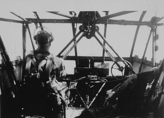 Harry Schmid Flies His Glider | Ken Burns: The War