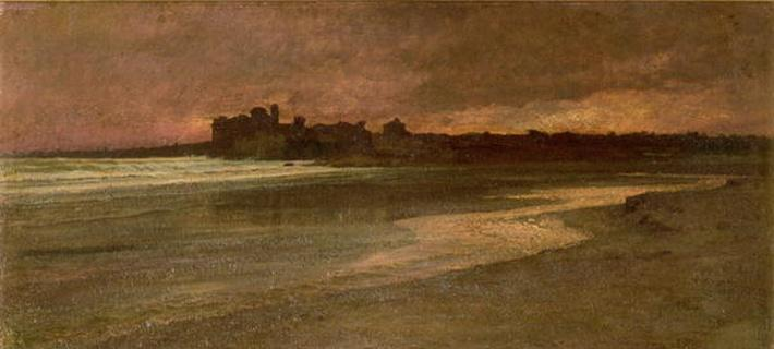Nettuno, Evening on the Beach