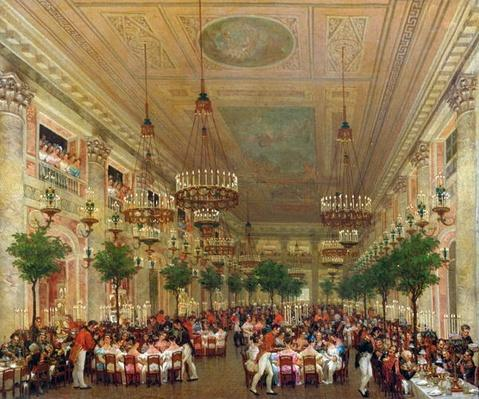 Feast at the Tuileries to Celebrate the Marriage of Leopold I