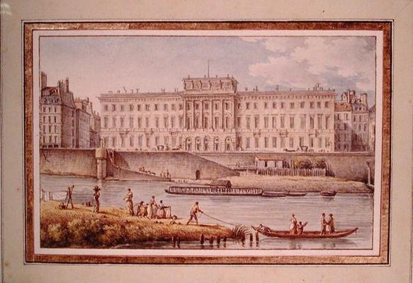 View of the Hotel des Monnaies at the Confluence of the Two Branches of the Seine