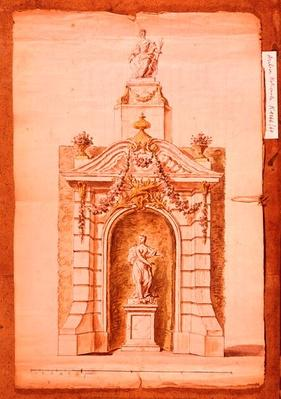 Project for the Fire of St. John, 1741