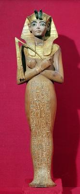 Shabti figure of the king from the Tomb of Tutankhamun