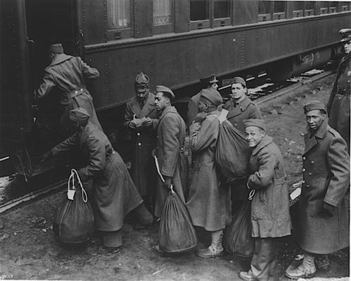 Boarding a Troop Train | Ken Burns: The War