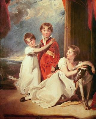 Portrait of the Fluyder Children, 1805