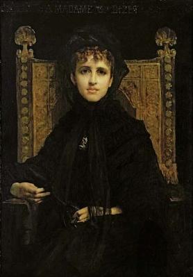 Portrait of Madame Georges Bizet