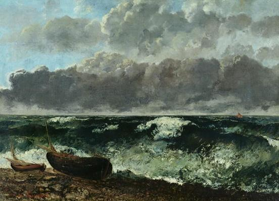 The Stormy Sea or, The Wave, 1870