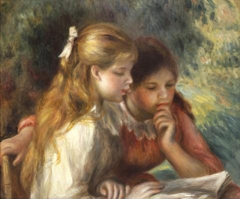 The Reading, c.1890-95