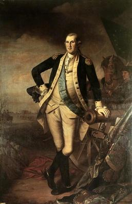 Portrait of George Washington, 1779 (oil on canvas) by Peale, Charles Willson (1741-1827) (after)