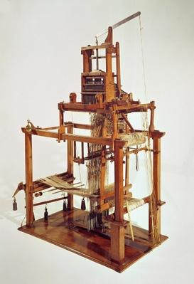 Loom designed by Joseph Marie Jacquard