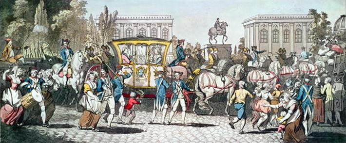 The Entry of Louis XVI