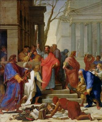 The Sermon of St. Paul at Ephesus, 1649