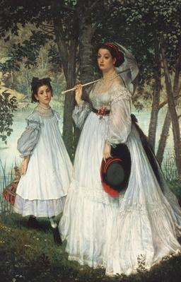 The Two Sisters: Portrait, 1863