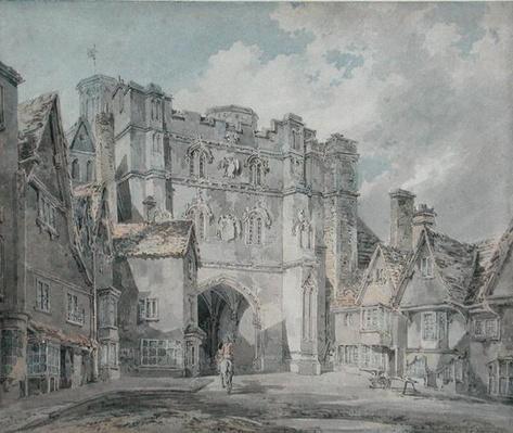 Christ Church Gate, Canterbury, 1793-94