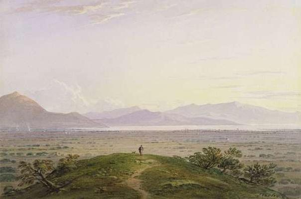 The Plains of Marathon, 1834