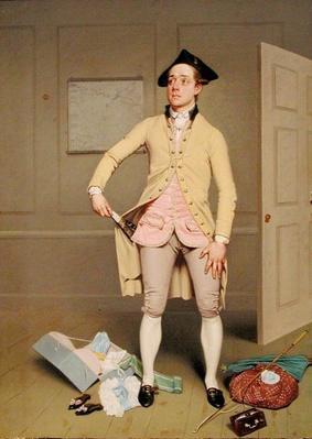 Samuel Thomas Russell in Samuel Foote's 'The Mayor of Garratt', c.1810-11
