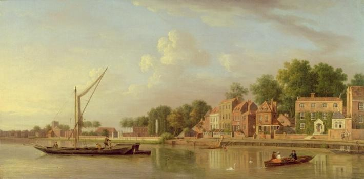 The Thames at Twickenham, c.1760