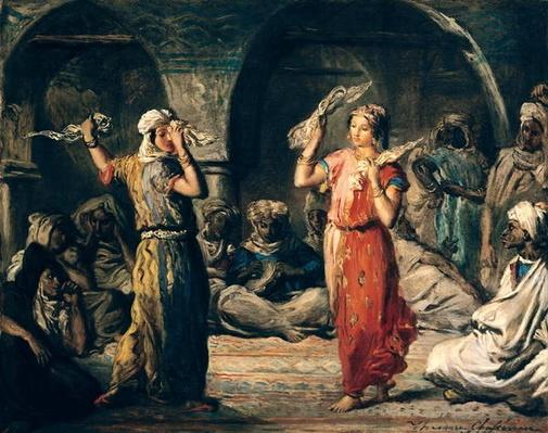 Dance of the Handkerchiefs, 1849