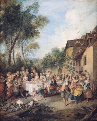 Wedding Feast in the Village
