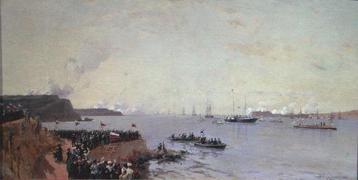 Arrival of Emperor Alexander III