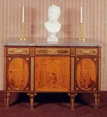 Commode, 1776-79