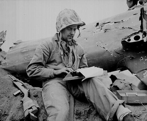 Writing about Iwo Jima | Ken Burns: The War