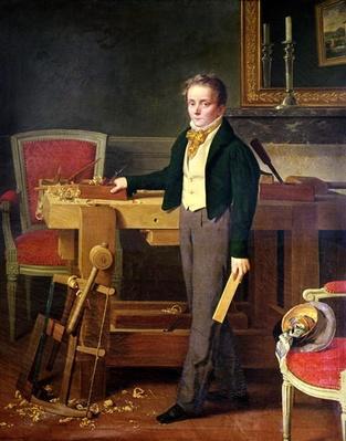 Portrait presumed to be Alfred de La Chaussee