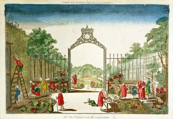 A Market Garden at One of the Gates of Paris
