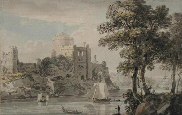 A Castle on the River