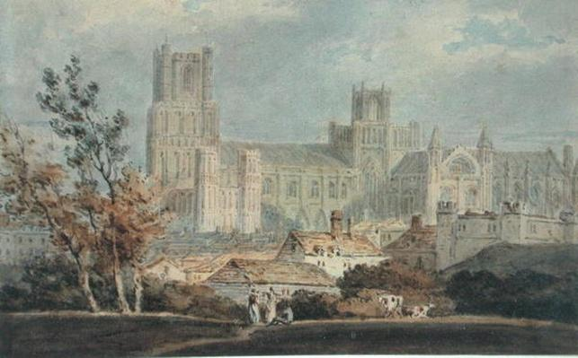 View of Ely Cathedral
