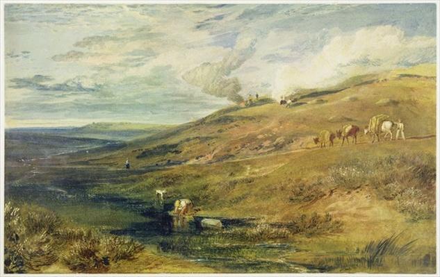 Dartmoor: The Source of the Tamar and the Torridge, c.1813