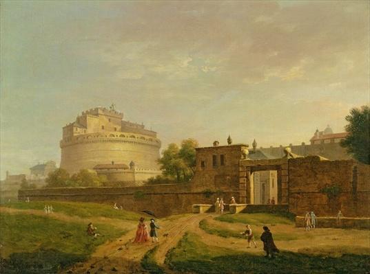 Castel Sant'Angelo, Rome, 1776