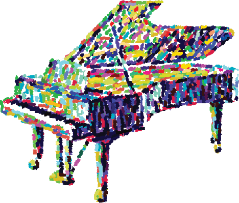 Piano Illustration | Clipart