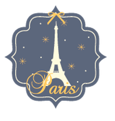 Travel Labels or Badges - Paris | Clipart