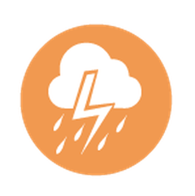 Set of Weather Icons   Clipart