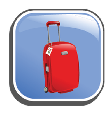 Icons with The Campaigns and Travel | Clipart