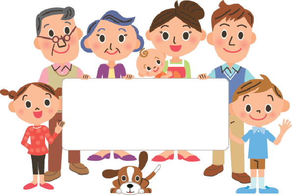 Family and Message Board | Clipart