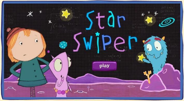 Star Swiper | Peg + Cat