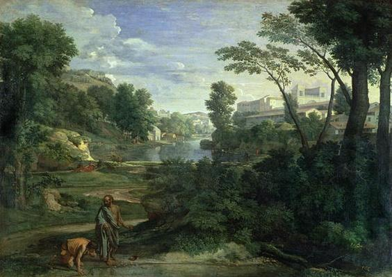 Landscape with Diogenes, 1648