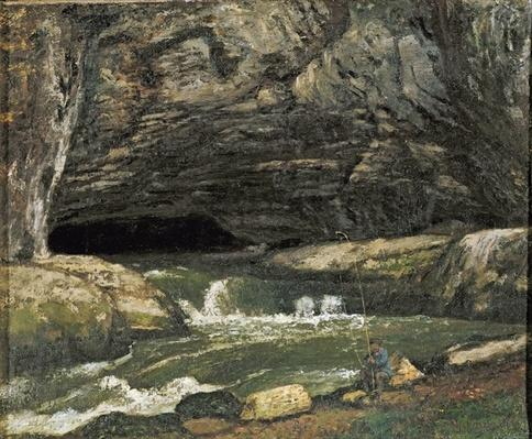 The Source of the Loue or La Grotte Sarrazine