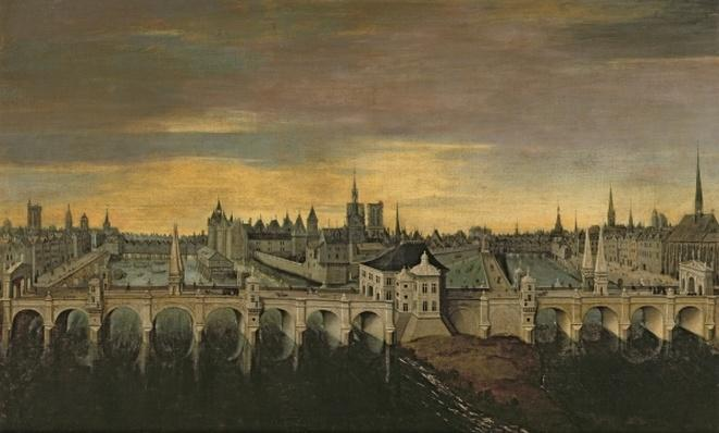 Design for the Construction of the Pont-Neuf, c.1577