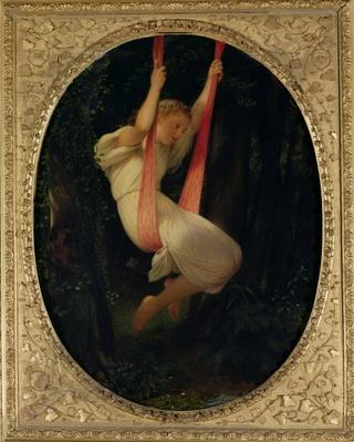 Young Girl on a Swing, 1845