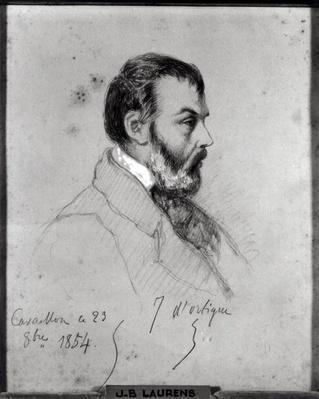 Portrait of Joseph d'Ortigue
