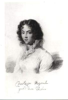 Portrait of Constanze Mozart