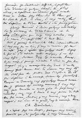 Letter to Richard Wagner