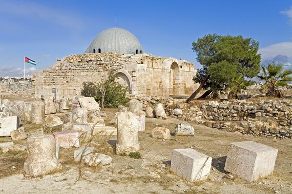Umayyad palace ruins at the Citadel | World Religions: Islam